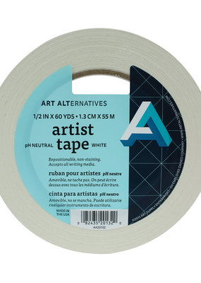 Art Alternatives Artist Tape .5 Inch 60 Yards