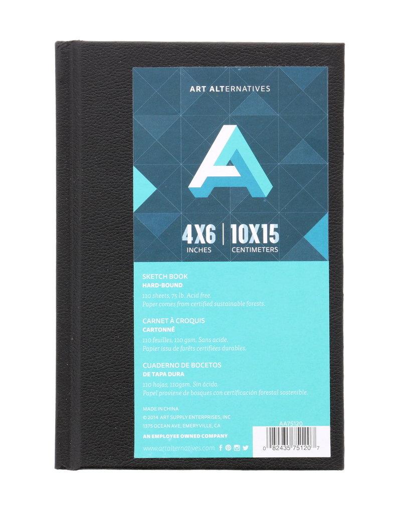 Art Alternatives Sketch Book Hard Bound 4 X 6