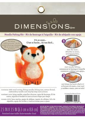 Dimensions Needle Felting Kit Fox