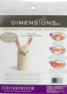 Dimensions Needle Felting Kit Bunny