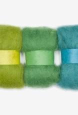 Dimensions Dimensions 100% Wool Roving Trio Blue Green