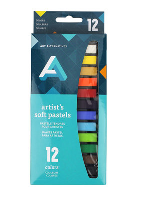 Art Alternatives Chalk Pastels 12 Color Set
