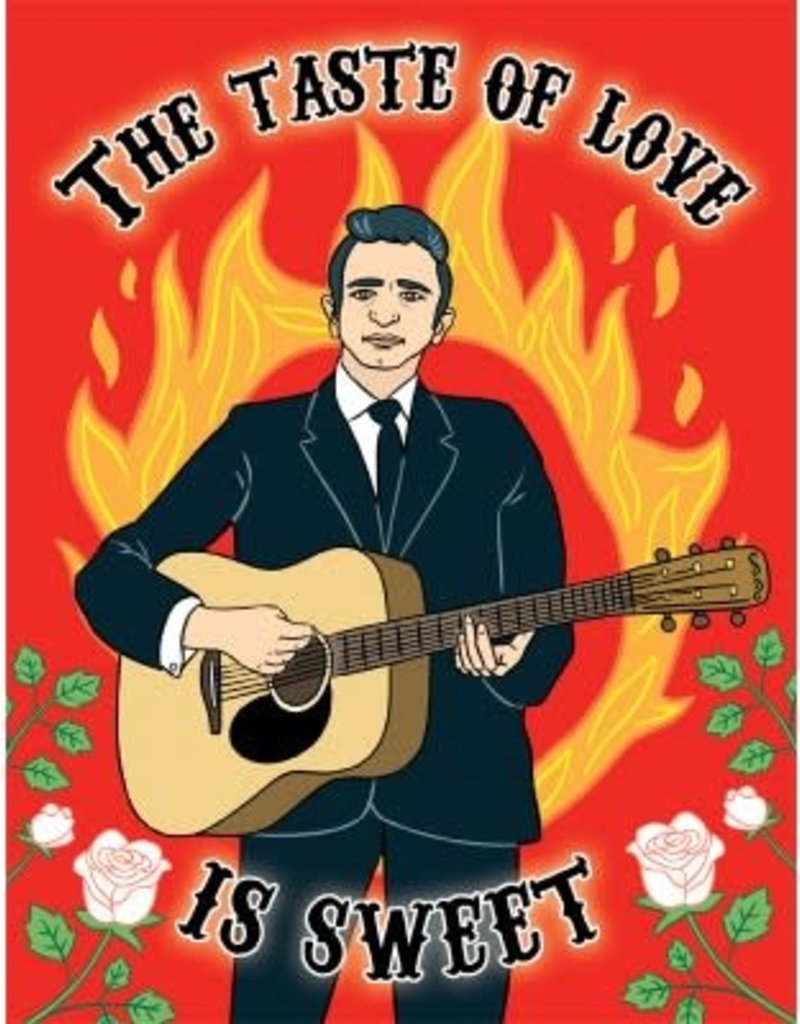 The Found Card Johnny Cash The Taste of Love