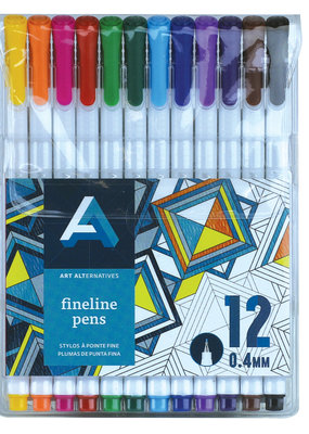 Art Alternatives Fineline Pen Set of 12