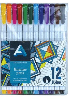 Art Alternatives Fineline Pen Set of 12