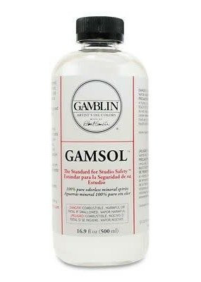 Gamblin Gamsol 16 oz.