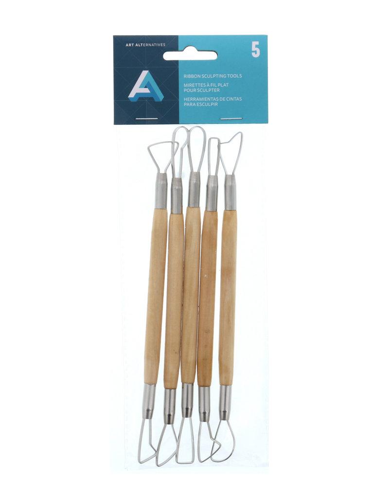 Art Alternatives Double-Ended Ribbon Sculpting Tool Set