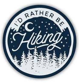 Stickers NW Sticker I'd Rather Be Hiking