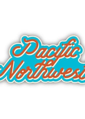 Stickers NW Sticker PNW Script