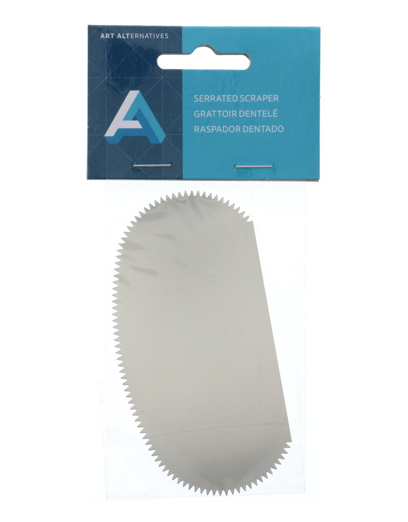 Art Alternatives Serrated Scraper Clay Tool