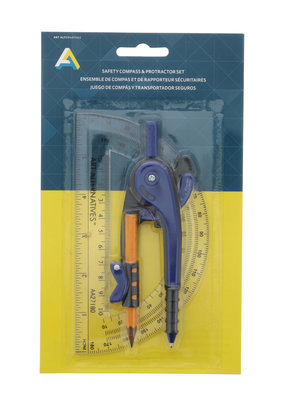 Art Alternatives Compass & Protractor Set
