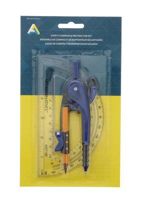 Art Alternatives Compass & Protractor Set