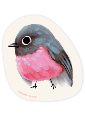 The Little Red House Sticker Rodinogaster
