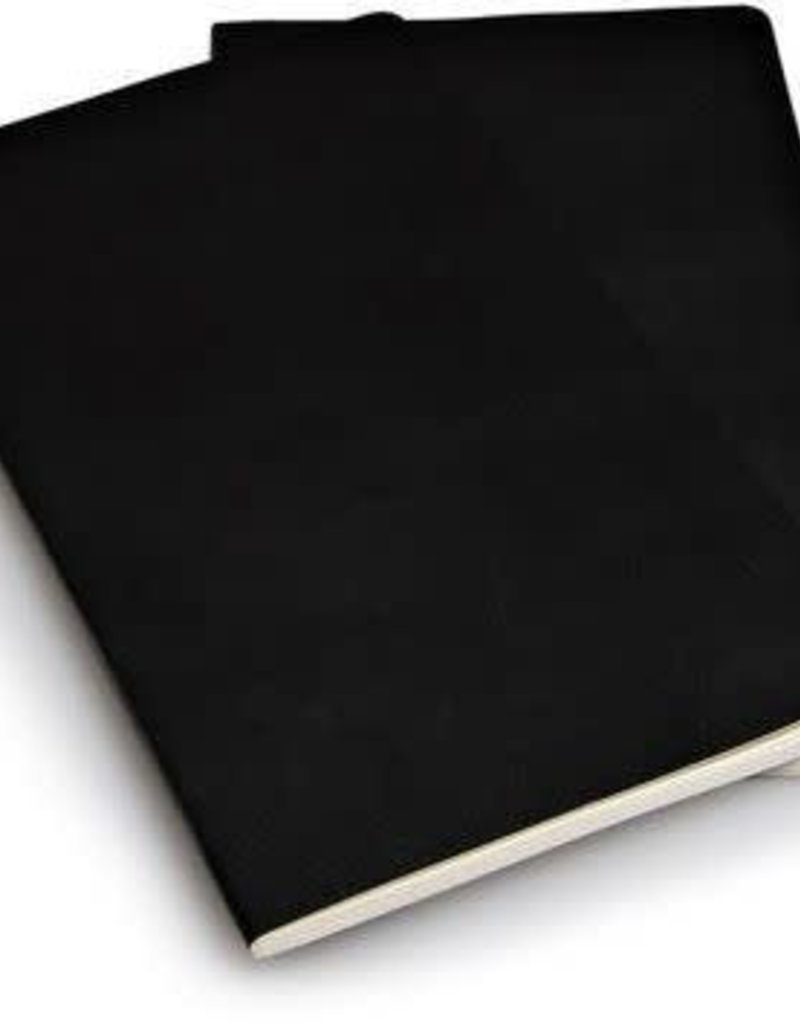 Moleskine Moleskine Volant Set of 2 Ruled Black