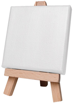 Art Alternatives Mini Canvas White  2 x 2 Inch