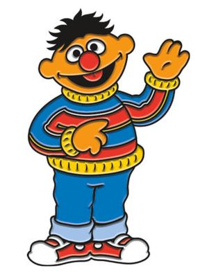 Enamel Pin Ernie