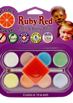 Ruby Red Face Paint Pastel Palette