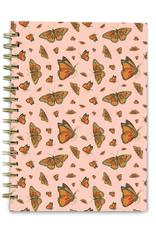 Good Juju Ink Spiral Notebook Monarch Butterflies