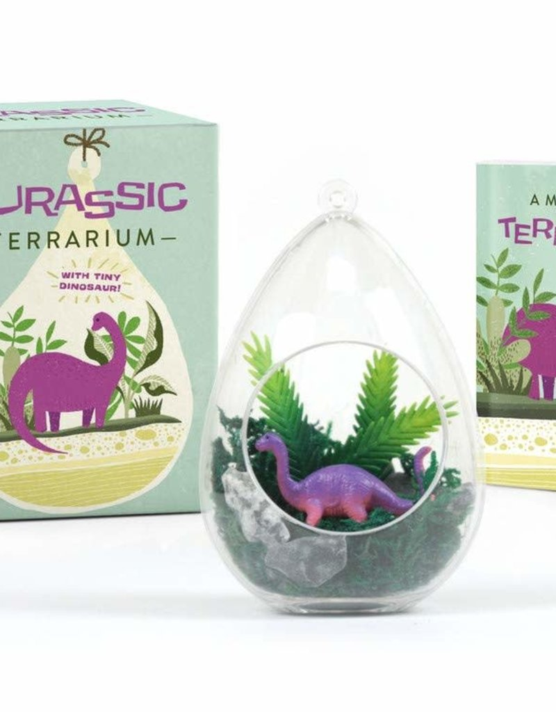Running Press Jurassic Terrarium