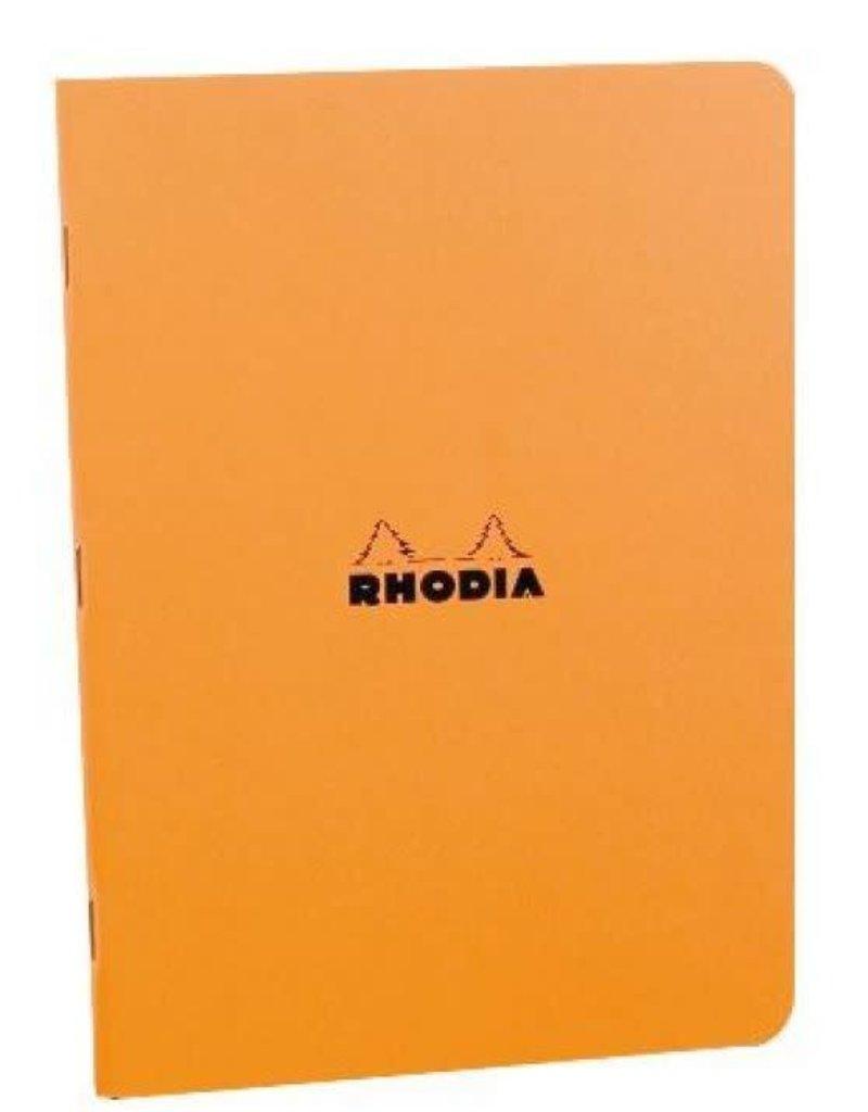 Rhodia Rhodia Stapled Lined 8.25X11.75 Orange
