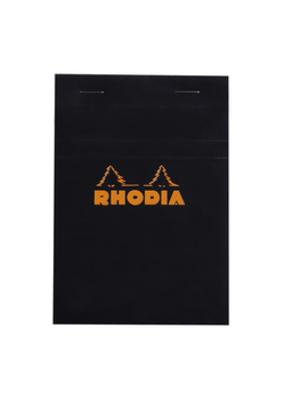 Rhodia Rhodia Pads 4 x 6 Graph Paper Black 80 Sheets