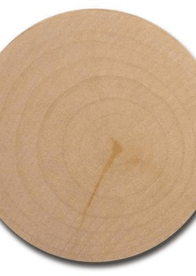 "Lara's Lara's Wood Bulk Circle 2 3/8"" X .25""  24 Piece Pack"