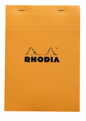 Rhodia Rhodia Graph Pad Orange 6 x 8.25