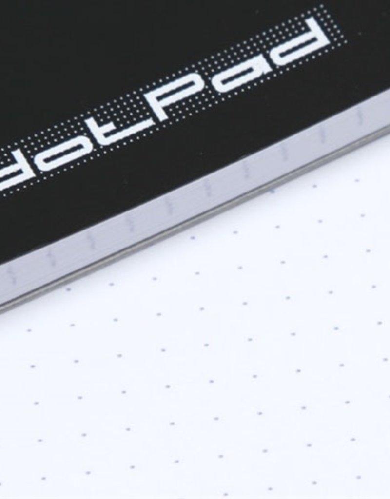 Rhodia Dot Pad Black CV 8.25X12.5 8OSH