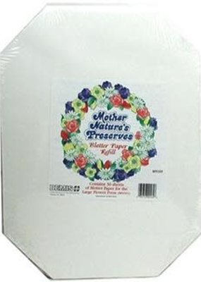 Mother Nature Mother Nature's Preserves Blotter Paper Large