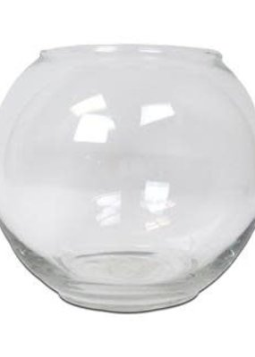 Libbey Glass Glass Bubble Bowl Small Footed