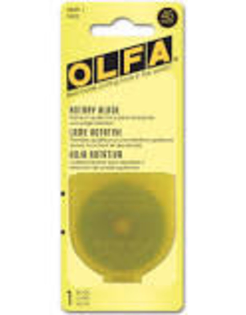 Olfa Blades 45 mm Rotary 1 Piece Pack