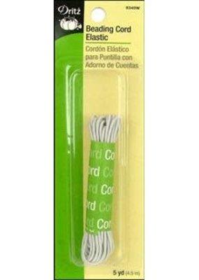Dritz Dritz Elastic Beading Cord 5 Yard White