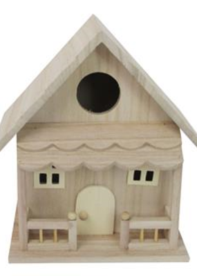 Sierra Pacific Crafts Birdhouse with Porch