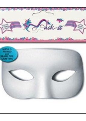 Midwest Design Midwest Design Mask It Half 5.5 Inch White