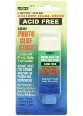 Pioneer Straight Edge Glue Stick Photo Safe