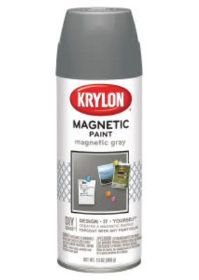 Krylon Krylon Magnetic Primer Spray 13oz Magnetic Grey
