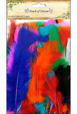 Midwest Design Feathers Turkey Flats 14 Gram Assorted Bright Colors