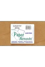 Paper Accents Envelopes #10 Letter 10 Pack Brown Bag