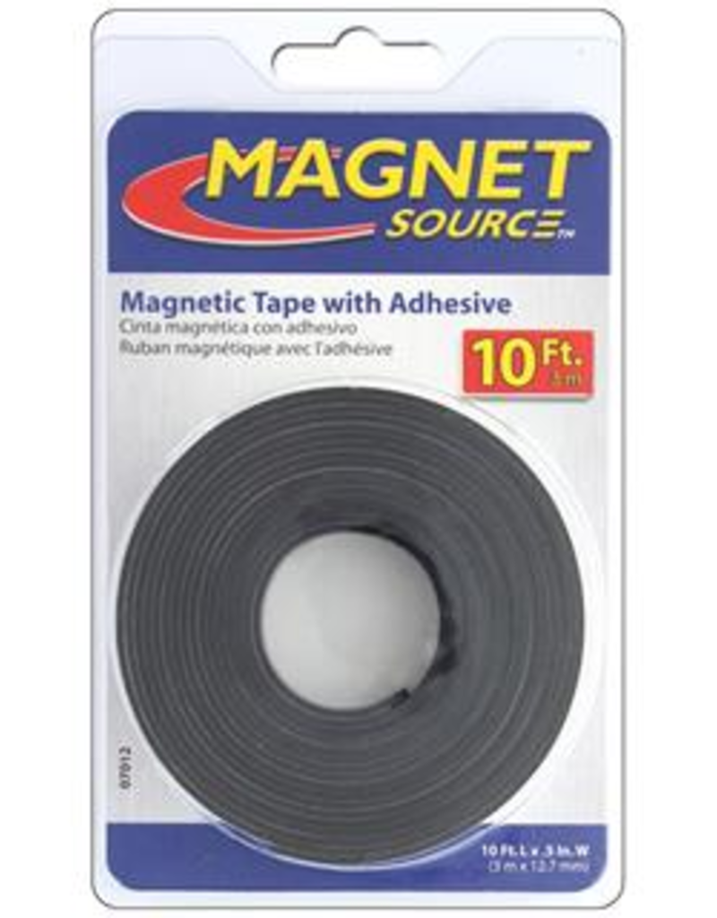 The Magnet Source Magnetic Tape With Adhesive