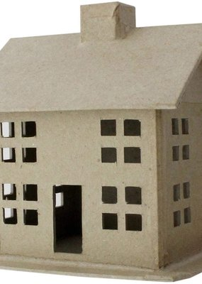 PA Essentials Paper Mache 3D House Small Style A