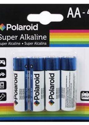 Polaroid Battery AA 4 Count