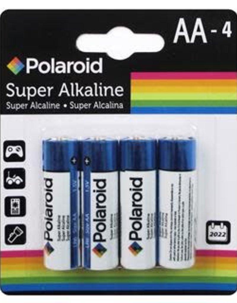 Polaroid Battery AA 4 Count