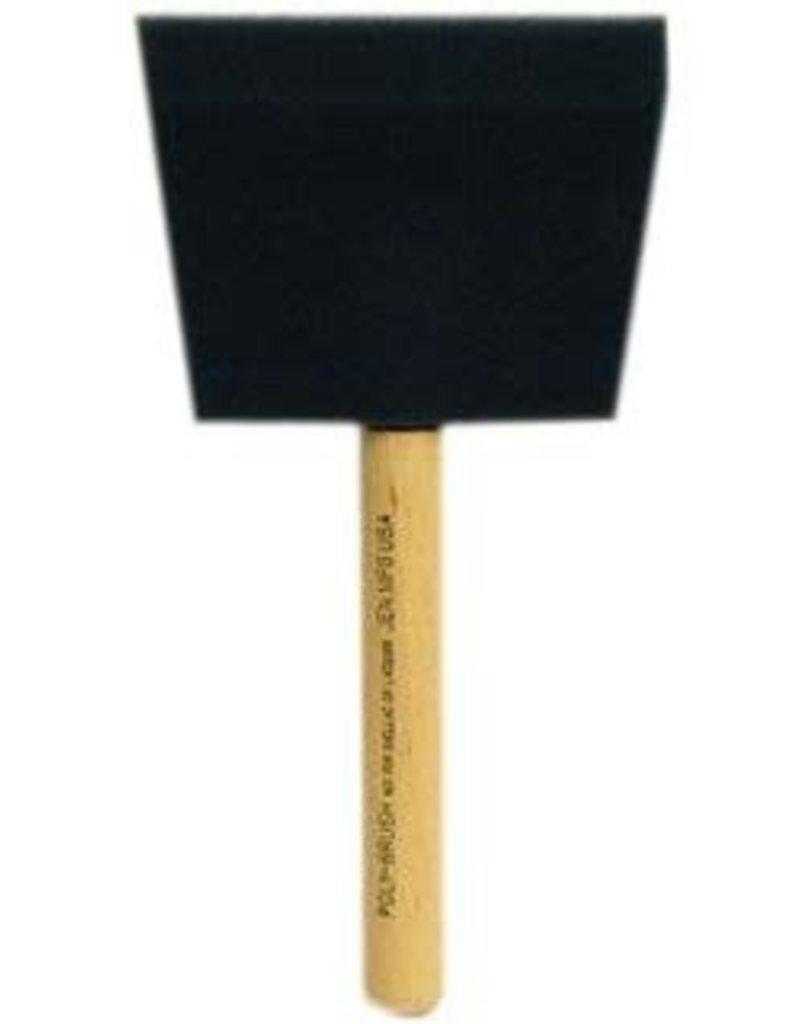 JEN Poly Foam Brush 4 Inch