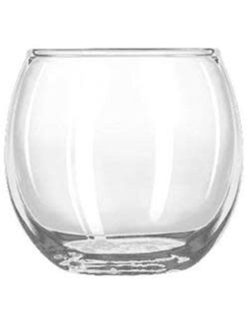 Libbey Glass Glass Roly Poly Votive Holder 2.5 Inch