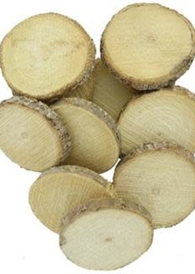 Sierra Pacific Crafts Wood Slice 3.5 Inch