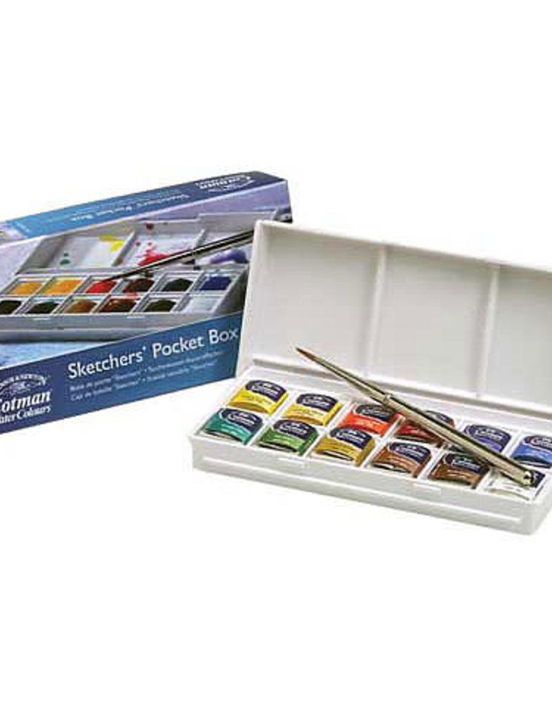 Winsor & Newton Cotman Watercolor Sketcher Pocket Box