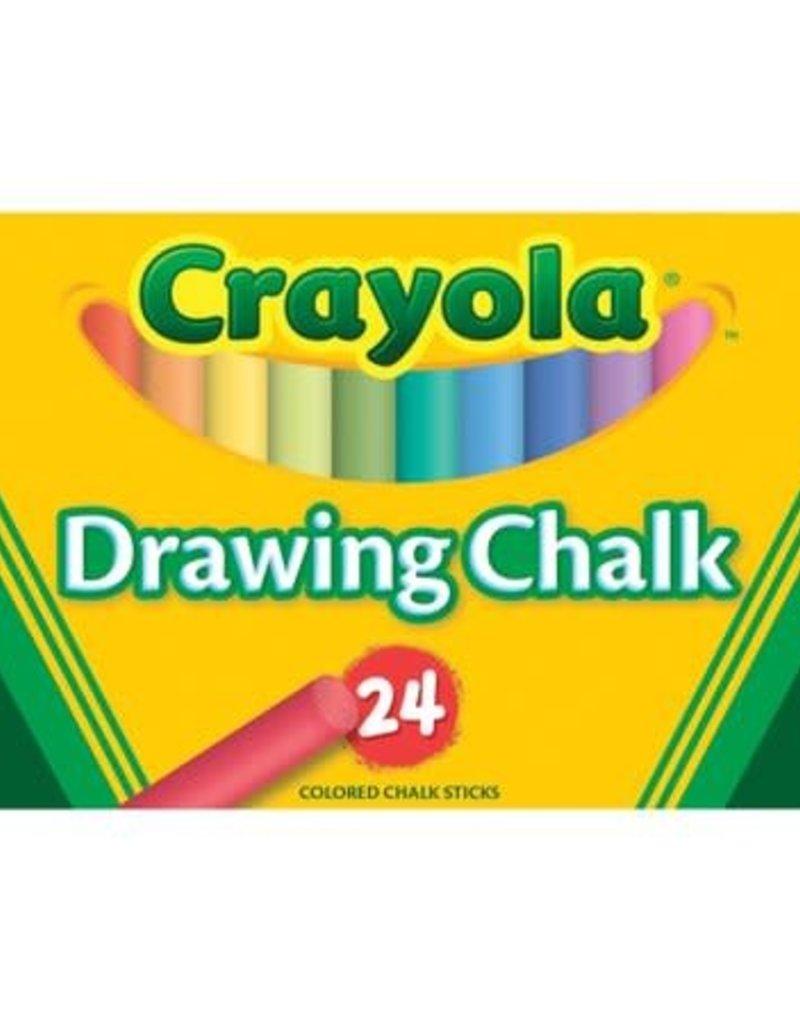 Crayola Colored Chalk Box Of 24