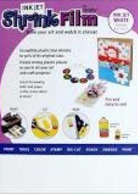 Grafix Ink Jet Shrink Film White 8.5 X 11 6 Sheet Pack