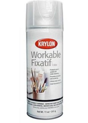 Krylon Spray Workable Fixatif 11 Ounce