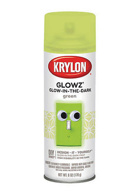 Krylon Glow-In-The-Dark Spray Paint 6 Ounce
